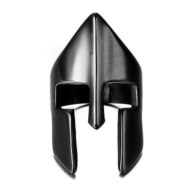 Bărbați Pentru femei Negru Teak Craniu Metalic Punk Cadou Costum de bijuterii