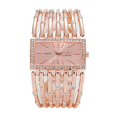 Pentru femei Ceasuri de lux Ceas de Mână ceas de aur Quartz Argint / Auriu / Roz auriu Ceas Casual Cool Analog femei Lux Casual Modă Elegant - Auriu Argintiu Roz auriu Un an Durată de Viaţă Baterie