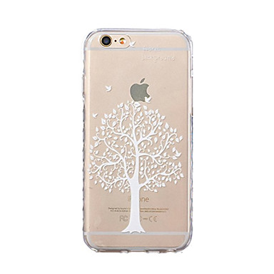 Coque Pour Apple iPhone X iPhone 8 Ultrafine Motif Coque Arbre Flexible TPU pour iPhone X iPhone 8 Plus iPhone 8 iPhone 7 Plus iPhone 7