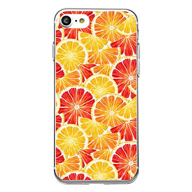 Maska Pentru Apple iPhone 7 iPhone 7 Plus Transparent Model Carcasă Spate Fruct Moale TPU pentru iPhone 7 Plus iPhone 7 iPhone 6s Plus