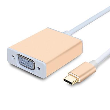 VGA Tip C Adaptor pentru cablu USB Înaltă Viteză Pentru MacBook Pro Macbook 15