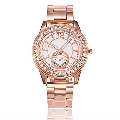 Pentru femei Unic Creative ceas Ceas de Mână Ceas Elegant  Ceas La Modă Chineză Quartz cald Vânzare Aliaj Bandă Casual Argint Auriu Roz
