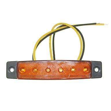 ieftine Becuri De Mașină LED-SENCART 12pcs Camion Becuri 1.5W SMD LED 120lm 6 Lumini exterioare For Παγκόσμιο Toți Anii