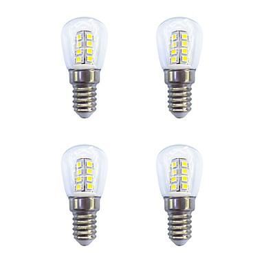 4pcs 2W 160lm E14 LED Globe Bulbs 26 LED Beads SMD 2835 Warm White White 220-240V