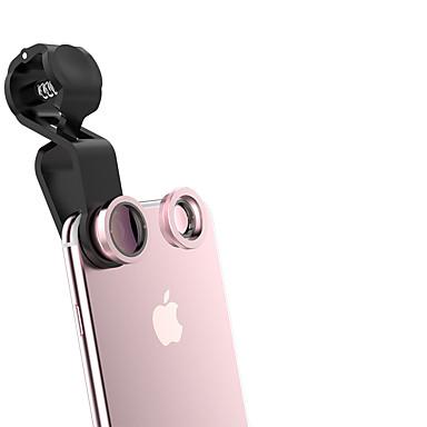 qadou lentilă telefon mobil 10x macro obiectiv 120 cu unghi larg de lentilă de sticlă din aliaj de aluminiu pentru telefonul mobil Android