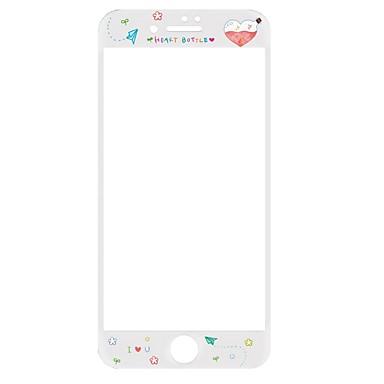 Ecran protector pentru Apple iPhone 7 Plus Sticlă securizată 1 piesă Ecran Protecție Întreg High Definition (HD) 9H Duritate La explozie