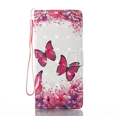 Maska Pentru Samsung Galaxy Note 8 Titluar Card Portofel Cu Stand Întoarce Magnetic Model Carcasă Telefon Fluture Greu PU piele pentru