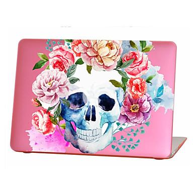 MacBook Carcase Cranii / Floare TPU pentru MacBook Air 13-inch / MacBook Air 11-inch / MacBook Pro Retina kijelzős, 13 hüvelyk