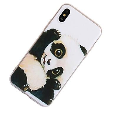 Morbido 8 7 iPhone X Apple 06233310 Per Per iPhone retro Custodia Fantasia Plus iPhone per 8 TPU X Panda iPhone 8 disegno Plus iPhone iPhone qTPnHB