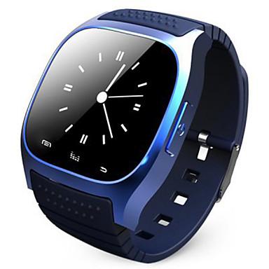 rwatch M26 giyilebilir SmartWatch, medya kontrolü / eller-serbest telefon görüşmesi / pedometre / android anti-kayıp / ios