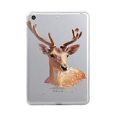 Pentru iPad (2017) Carcase Huse Transparent Model Carcasă Spate Maska Crăciun Moale TPU pentru Apple iPad (2017) iPad Pro 12.9'' iPad Pro