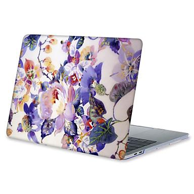 MacBook Carcase Floare TPU pentru MacBook Air 13-inch / MacBook Air 11-inch / MacBook Pro Retina kijelzős, 13 hüvelyk