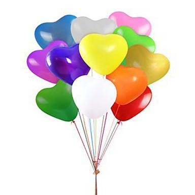 baloane de baloane baloane de inimă baloane de latex de 12 inch 100 de pachete pentru copii consumabile pentru petreceri de nunți