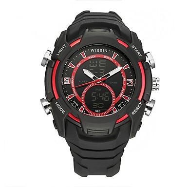 Bărbați Ceas Sport Ceas de Mână Ceas Casual Ceas digital Swiss Piloane de Menținut Carnea Cronograf LED Zone Duale de Timp  Cronometru
