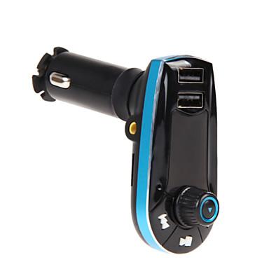 voordelige Bluetooth autokit/handsfree-Automatisch bt618c V2.1 Bluetooth Auto Kit Met Speaker Music FM Zenders Mp3-Speler