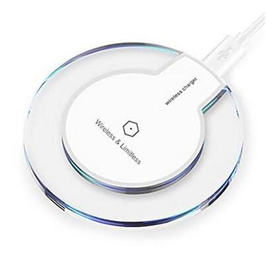 Недорогие Гаджеты для Samsung-Беспроводное зарядное устройство Зарядное устройство USB Универсальный Беспроводное зарядное устройство 1 USB порт 1 A DC 5V для
