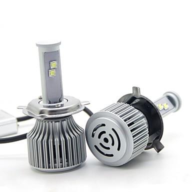 Недорогие Фары для мотоциклов-joyshine H4 Мотоцикл Лампы 120 W Интегрированный LED 9600 lm 8 Налобный фонарь Назначение