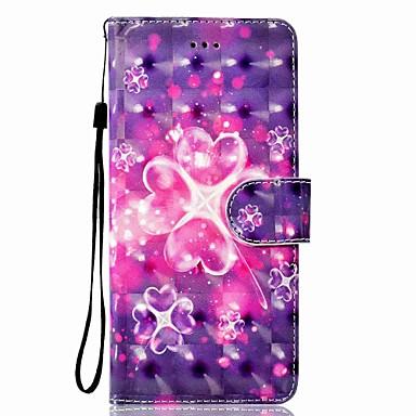 Maska Pentru Samsung Galaxy Note 8 Titluar Card Portofel Cu Stand Întoarce Magnetic Model Carcasă Telefon Floare Greu PU piele pentru
