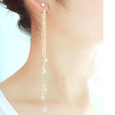 Dames Druppel oorbellen Kostuum juwelen Legering Sieraden Voor Feest Dagelijks Causaal Sport