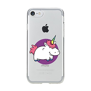 Pentru iPhone 7 iPhone 7 Plus Carcase Huse Model Carcasă Spate Maska Inorog Moale TPU pentru Apple iPhone 7 Plus iPhone 7 iPhone 6s Plus