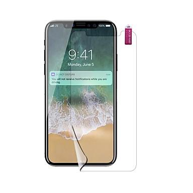Protecteur d'écran pour Apple iPhone X PET 1 pièce Ecran de Protection Avant Haute Définition (HD) / Antidéflagrant