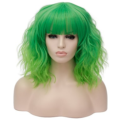 c1466ed060 Synthetic Wig Water Wave Kardashian Style Capless Wig Red Gold Pink ...