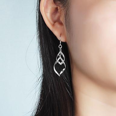 Pentru femei Cercei Picătură Bijuterii Statement Plastic Geometric Shape Bijuterii Casual Dată Costum de bijuterii