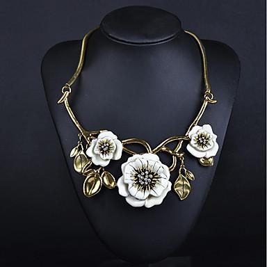 Pentru femei Floare Personalizat Floral Boem Modă Ajustabile Adorabil Confecționat Manual Bijuterii Statement Elegant Coliere Diamant