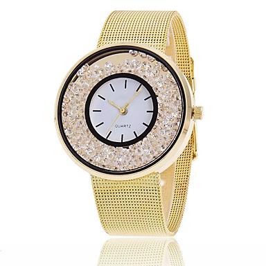 Pentru femei Ceas Brățară Ceas La Modă Ceas Casual Chineză Quartz Cronograf Rezistent la Apă Aliaj Bandă Charm Sclipici Casual Elegant