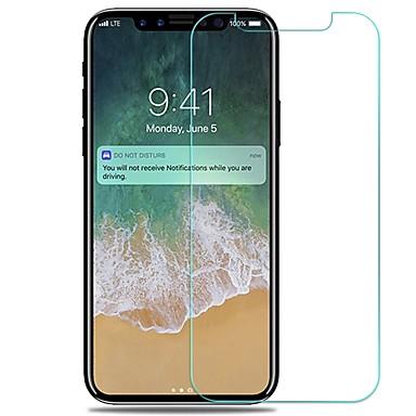 voordelige iPhone X screenprotectors-AppleScreen ProtectoriPhone X High-Definition (HD) Voorkant screenprotector 1 stuks Gehard Glas