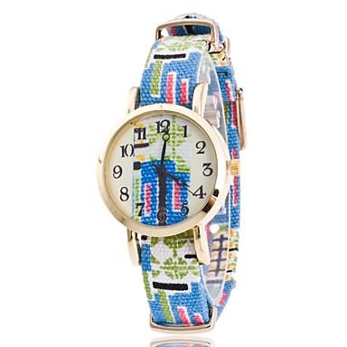 Pentru femei Unic Creative ceas Ceas de Mână Chineză Quartz Material Bandă Charm Casual Boem Elegant Albastru Gri Pink Violet Bleumarin