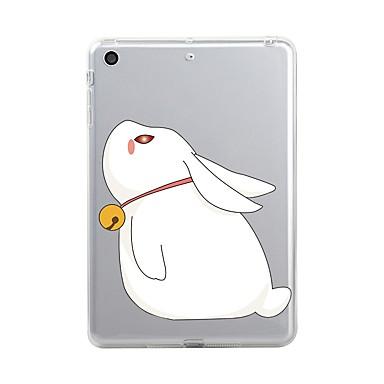 Pentru iPad (2017) Carcase Huse Transparent Model Carcasă Spate Maska Transparent Animal Desene Animate Moale TPU pentru Apple iPad