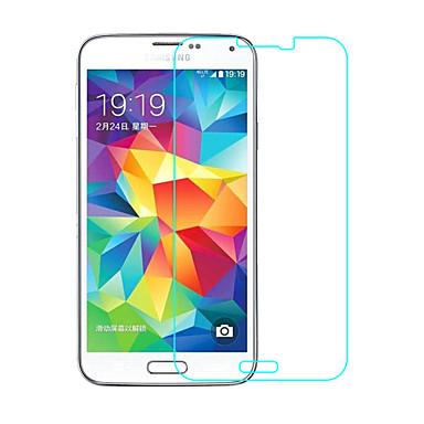화면 보호기 Samsung Galaxy 용 S5 안정된 유리 1개 화면 보호 필름 2.5D커브 엣지 9H강화 고해상도 (HD)
