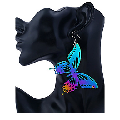 Pentru femei Cercei Stud Cercei Picătură Bijuterii Personalizat Modă Teak Fluture Bijuterii Club Stradă Costum de bijuterii