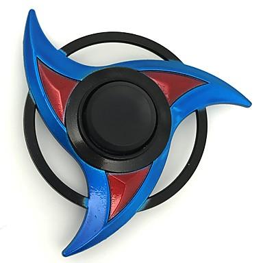 Fidget Spinner Inspirat de Naruto Sasuke Uchiha Anime Accesorii Cosplay aliaj de zinc