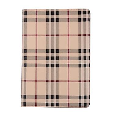 Maska Pentru Apple iPad Mini 4 iPad Mini 3/2/1 iPad 4/3/2 iPad Air 2 iPad Air Titluar Card Cu Stand Carcasă Telefon Linii / Valuri Greu