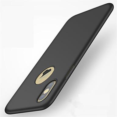 Pentru iPhone X iPhone 8 iPhone 8 Plus iPhone 7 Carcase Huse Mătuit Carcasă Spate Maska Culoare solidă Greu PC pentru Apple iPhone X