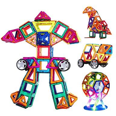 Blocs Magnétiques Blocs de Construction Design nouveau A Faire Soi-Même Amusement 108pcs Classique Enfant Fille Cadeau