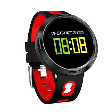 זול שעונים חכמים-YY x9 v0 גברים חכמים שעונים Android iOS Blootooth ספורטיבי עמיד במים מוניטור קצב לב בקרת APP מסך מגע טיימר מד צעדים מד פעילות מעקב שינה תזכורת בישיבה / כלוריות שנשרפו / המתנה ארוכה / שיחות ללא מגע יד