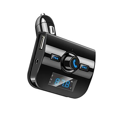bluetooth voiture kit mains libres appel fm metteur radio. Black Bedroom Furniture Sets. Home Design Ideas
