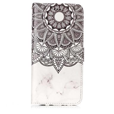 Недорогие Чехлы и кейсы для Galaxy S6 Edge-Кейс для Назначение SSamsung Galaxy S8 Plus / S8 / S7 edge Кошелек / Бумажник для карт / со стендом Чехол Мандала Твердый Кожа PU