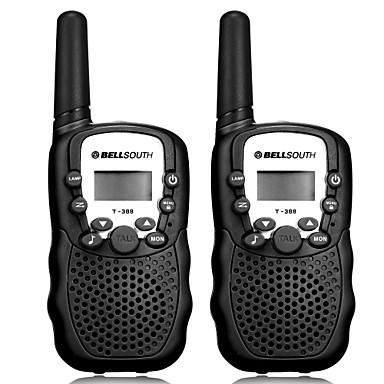T-388 Handheld / Anolog VOX / CTCSS / CDCSS 3KM-5KM 3KM-5KM 22CH 0.5W Walkie Talkie Two Way Radio