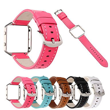 Ремешок для часов для Fitbit Blaze Fitbit Классическая застежка Натуральная кожа Повязка на запястье