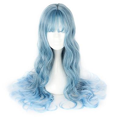 Lolita dulce Albastru lolita Peruci Lolita 65cm CM Peruci de Cosplay Perucă Pentru