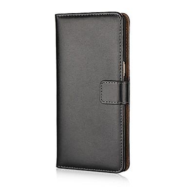 voordelige Galaxy Note-serie hoesjes / covers-hoesje Voor Samsung Galaxy Note 8 / Note 4 / Note Edge Portemonnee / Kaarthouder / met standaard Volledig hoesje Effen Hard PU-nahka