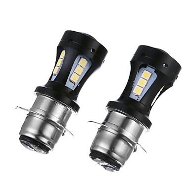 voordelige Motorverlichting-H6 Motor Lampen SMD LED 6000lm Koplamp For Universeel Alle Modellen Alle jaren