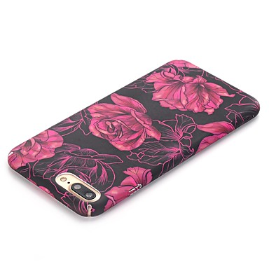 decorativo iPhone iPhone 8 ghiaccio Apple disegno Resistente Fiore PC Custodia X Fantasia Per 8 iPhone retro Effetto Per 06307232 per iPhone X EpIWRqxORw