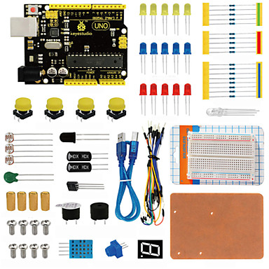 Keyestudio uno r3 set de paine pentru arduino starter cu dupont wireledresistorpdf