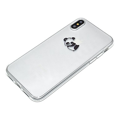 Plus iPhone TPU iPhone 8 8 Morbido Custodia per Fantasia 8 iPhone Plus logo Con iPhone X Panda Per Apple iPhone Apple disegno Per retro 06355790 X xwUaEYaq