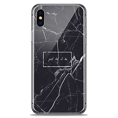케이스 제품 Apple iPhone X iPhone 8 Plus 패턴 뒷면 커버 마블 소프트 TPU 용 iPhone X iPhone 8 Plus iPhone 8 iPhone 7 Plus iPhone 7 iPhone 6s Plus iPhone 6s